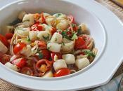Beach Eats: Scalloping Joseph Scallops with Tomato Fennel Spaghetti