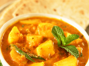 Potato Mint Tomato Curry Aloo Pudina