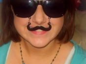 Positive Attitude. Mustache.