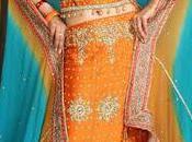 Pakistani Bridal Lehenga Dupata Style Collection 2012