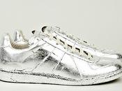 Wrapped Foil: Martin Margiela Silver Foil Replica Sneaker