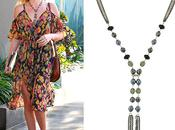 Find Friday: Tassel Drop Necklace Organic-Shaped Danglers