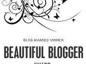 Beautiful Blogger Award All!