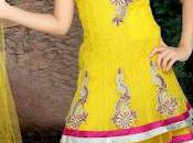 Latest Beautiful Kids Anarkali Frocks Collection 2012