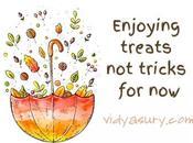 Enjoying Treats Tricks Least #GratitudeCircle