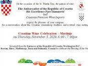 Celebrate Martinje Virtually Croatian Embassy
