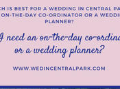 Difference Between On-the-day Co-ordinator Wedding Planner