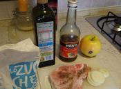 Cook: Pork Chop with Apples!- Chuletas Cerdo Manzanas!
