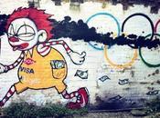 Olympics Street Graffiti
