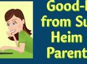 Good-Bye from Susan Heim Parenting