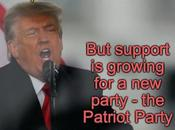 Bows Trump Patriot Party Sentiment Growing