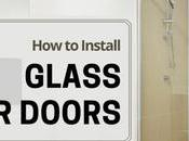 Install Glass Shower Door Small Spaces (DIY Guide)