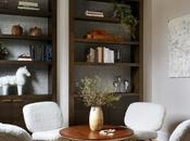 Design Diary: Cozy Sitting Room With Shearling Lounge Chairs Holly Gagne
