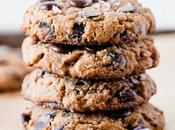 Gluten-Free Sourdough Chocolate Chip Cookies (Dairy-Free Vegan)