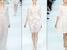 Elie Saab 2012 Delicate Classic Bridal Gowns