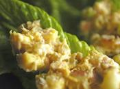 Cats Curried Tuna Lettuce Wraps