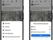 Facebook Updates: Control Comment Reach, News Feed Filters, Recommendations