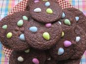 Fudgy Easter Brownie Cookies