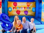 Ethan's Birthday Bouncy Castle Lots Sunshine!