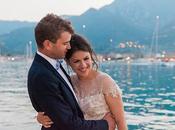 Intimate Greek French Affair Lefkada with Romantic Blossoms Margarita Emmanuel