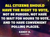 America, Your Vote Voting Rights Being Devoured