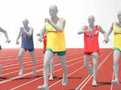 Medalists: Men's 100-Meter Sprint