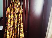 Vintage Miami Style Holiday Dress