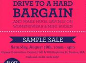 Shopping Boston Boden Sample Sale