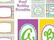 Free Printable Friday: Rainbows