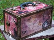 Decoupage Cargo Case with Helmar