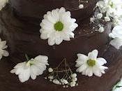 American Chocolate Wedding Cake