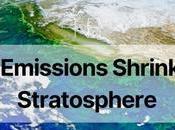 Climate Emissions Shrinking Stratosphere