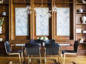 Scheming: Chinoiserie-Meets-Art Nouveau Dining Room Arazi Levine