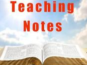 Teaching Notes: Suffering