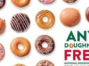 Free Krispy Kreme Doughnut June