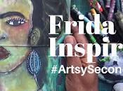 #Artsysecondsunday Frida Inspired Painting