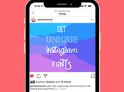 Change Instagram Fonts (Bio, Posts, Stories)