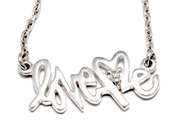 Graffiti Necklace Anna Sheffield