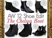 AW'12 Shoe Edit: Chelsea Boot