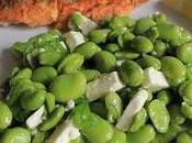 Broad Bean, Mint Feta Salad