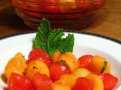 Quick Easy Summer Watermelon Honeydew Melon Salad