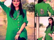 Corrogue Women Casual Dresses Collection 2012 Dilkash Colours