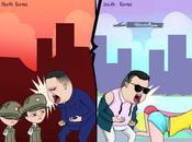 Behind Oppa Gangnam Style