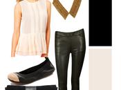 Color Combo: Cream Black
