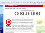 Rapid Ride Countdown