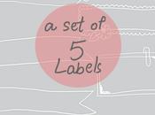 FREEBIE: Memo Pads Labels