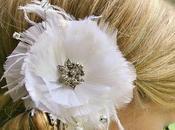 Vintage Inspired Feather Fascinator