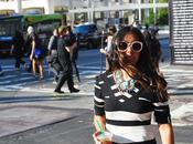 Stripes Look York Fashion Week