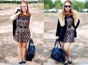 Metallic Lace Dress THREE Ways ONE: Work (Outfit)