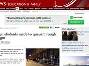 International Students Disaster Worsens
